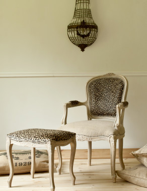 One of a kind French Louis XV Armchair