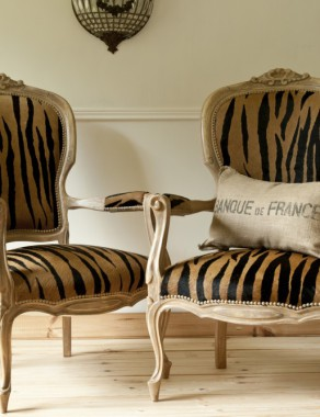 One of a kind French Style Louis XV Armchairs