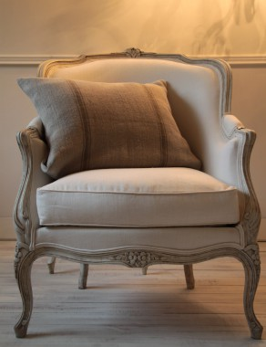 Pair of French Louis XV Bergeres Chairs - This item is sold