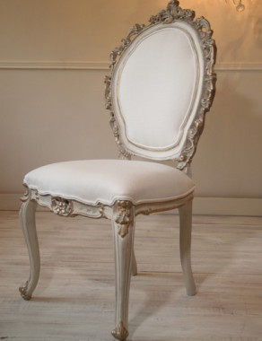 Unique French Louis XV Very Decorative Chair