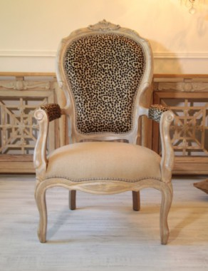 Vintage French Louis XV Armchair